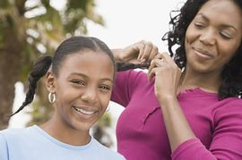 children hair perm